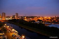 Glasgow City Skyline, pre-dawn