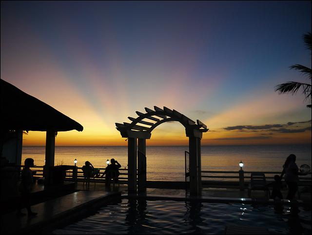Morong sunset