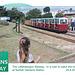 Littlehampton Railway rushing to catch the train Norfolk Gardens - 20.8.2013