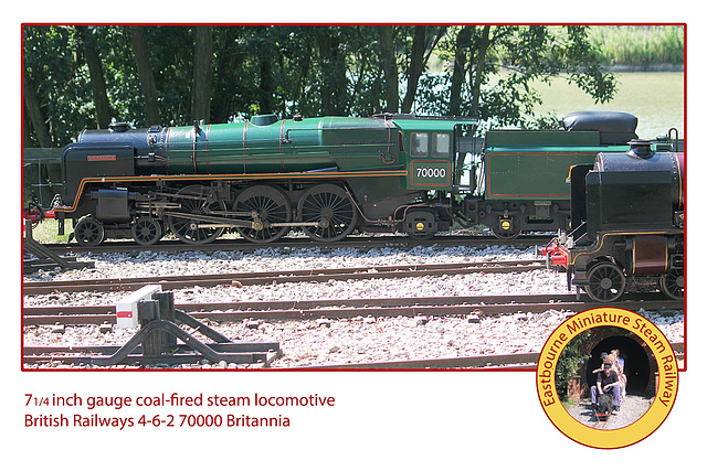 EMSR BR 4-6-2 70000 Britannia 1 8 2013