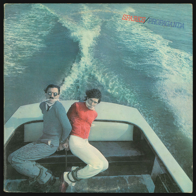 SPARKS - Propaganda Front Cover