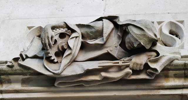 lazy worker ? middlesex guildhall, westminster