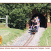 Eastbourne Miniature Steam Railway Southern  440  914 Eastbourne Padgham Tunnel 1 8 2013