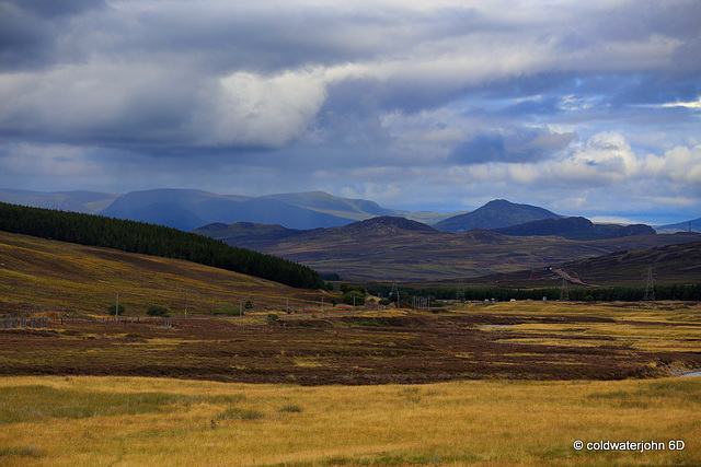 Views Westwards off the A9