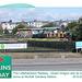 Littlehampton Railway Green Dragon arrives at Norfolk Gardens 20 8 2013