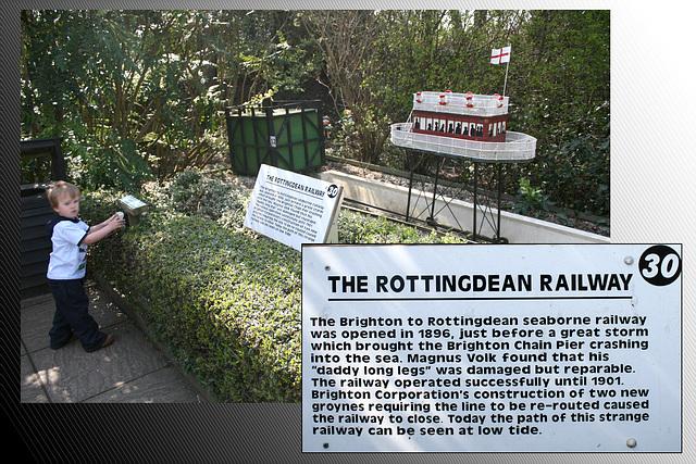 Volks Rottingdean Railway model - Paradise Park - Newhaven - 13.4.2010