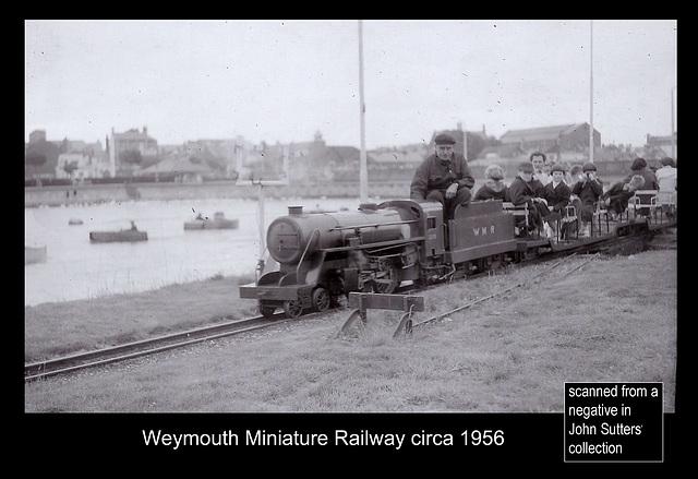 Weymouth Miniature Railway c 1956