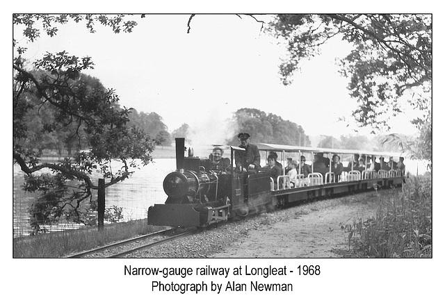 Longleat narrow-gauge railway 1968 by Alan Newman
