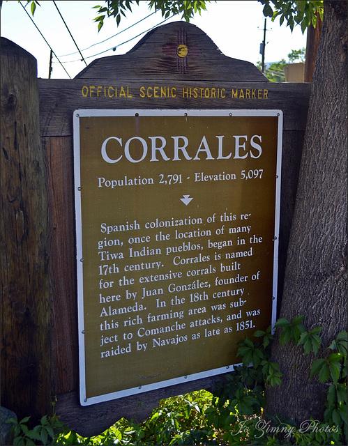 Corrales Signage