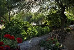 Jardines de un cortijo