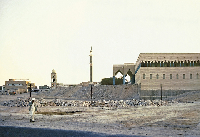 Back of the Ruler's Palace, Doha, 1967