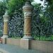 Zaun bei der Erlöserkirche St. Petersburg