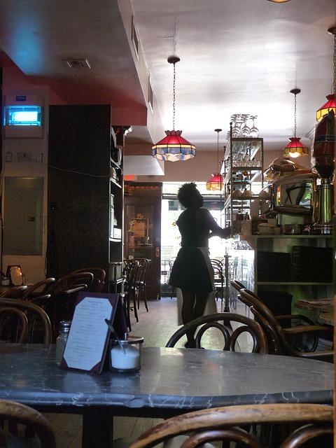 lovely waitress