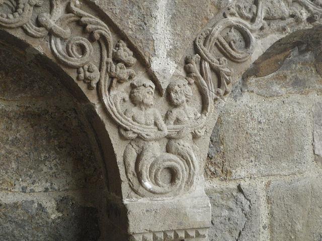 Eglise de Salers : détail 2