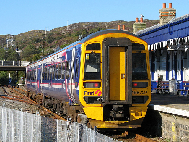 158727 in the sun at Kyle