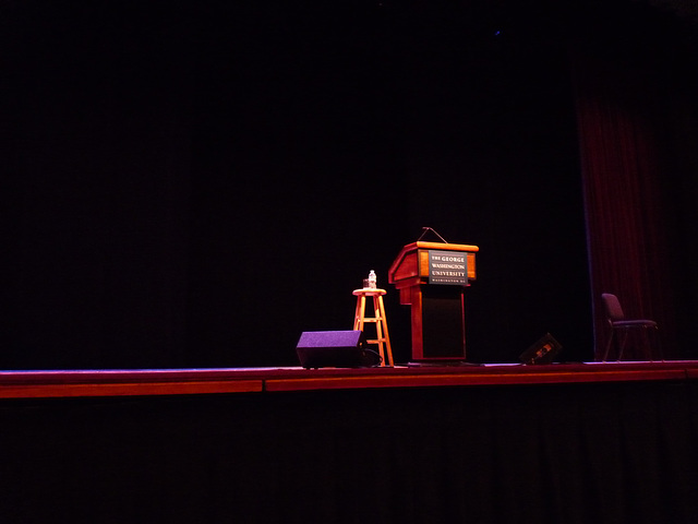 waiting for David Sedaris