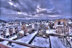 BESANCON: 2012.12.02 La neige arrive...
