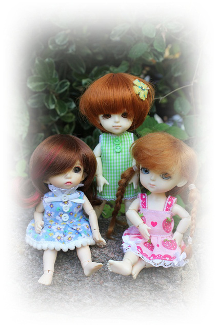 Bonnie, Xanthe and Poppy