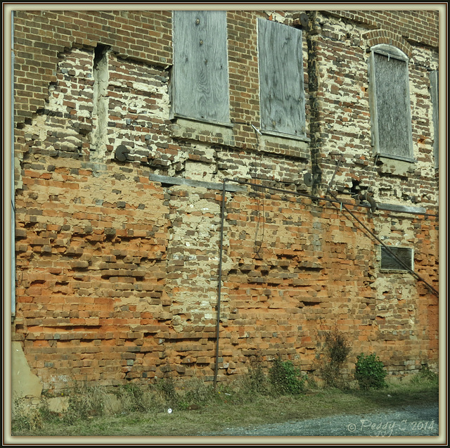 .. old brickwork