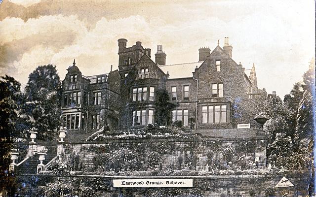 Eastwood Grange, Ashover, Derbyshire (c1910)