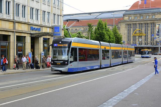 Leipzig 2013 – Tram 1226 to Sommerfeld