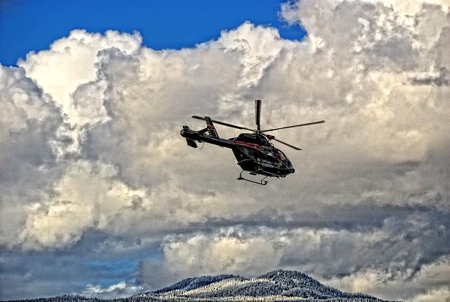 Rotorless Helicoper