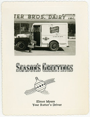 Season's Greetings from Your Rutter's Milkman