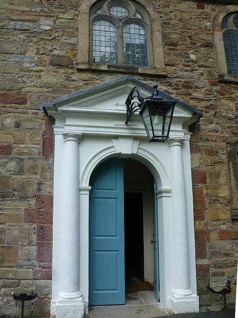 st.james church, holywell, clwyd