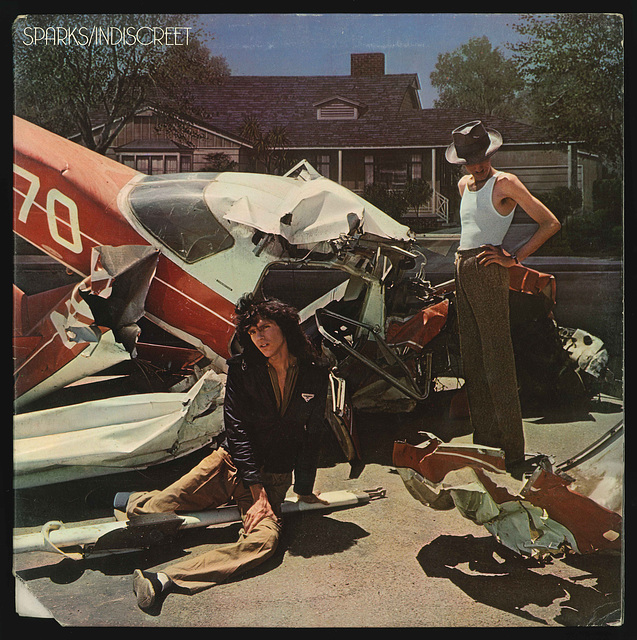 SPARKS - Indiscreet Front Cover