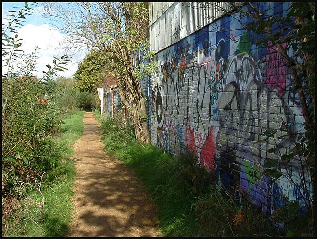 river path at Rewley