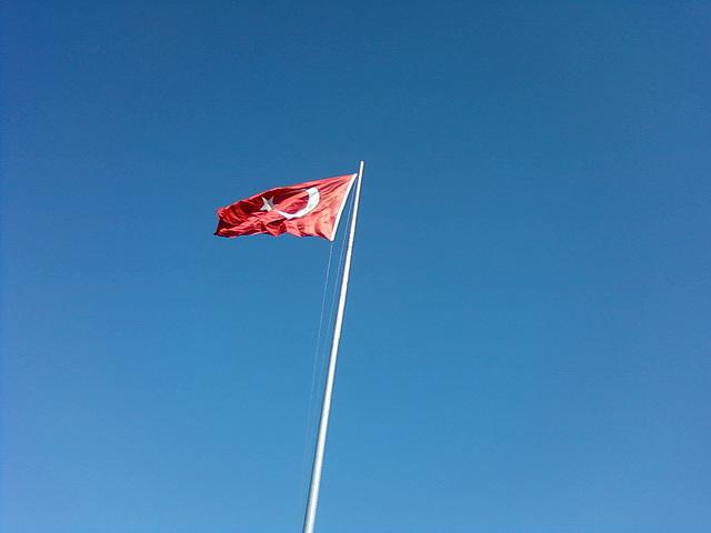 Türk flag-karamık
