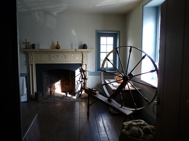 inside the Old Stone House
