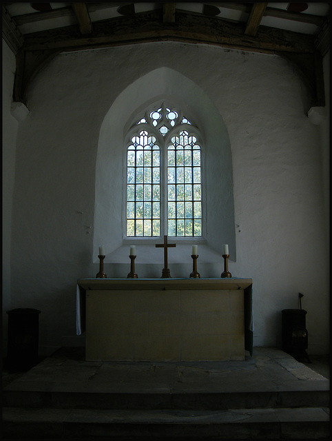 altar at Bartlemas Chapel