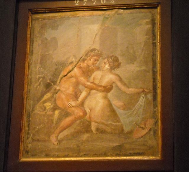 Affresco erotico da Pompei