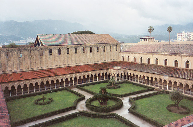 The Cloister Behind the Cathedral of Monreale, 2005