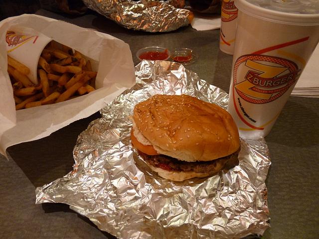 Friday night munchies @ Z-Burger