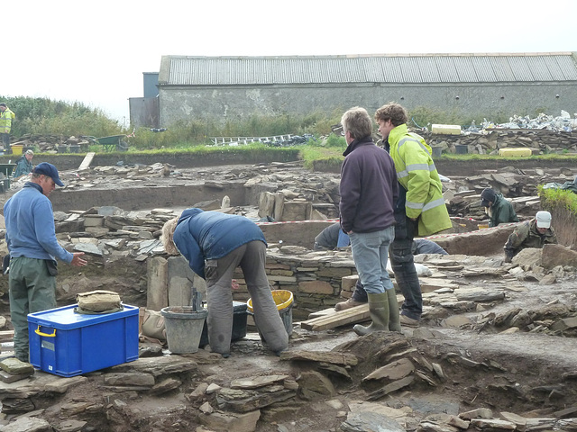 Ness of Brodgar excavations