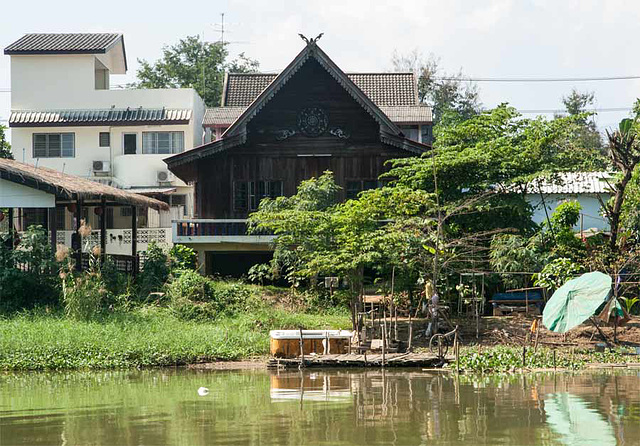 Architecture on River Ping