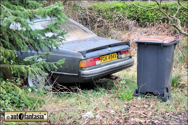 1980 BMW 635 CSI - PGK 494V