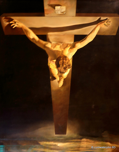 Salvador Dali's Christ of St John on the Cross
