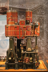 A working scale model of a steam engine