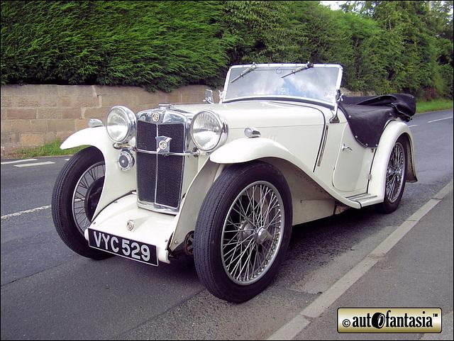 1935 MG Midget - VYC 529