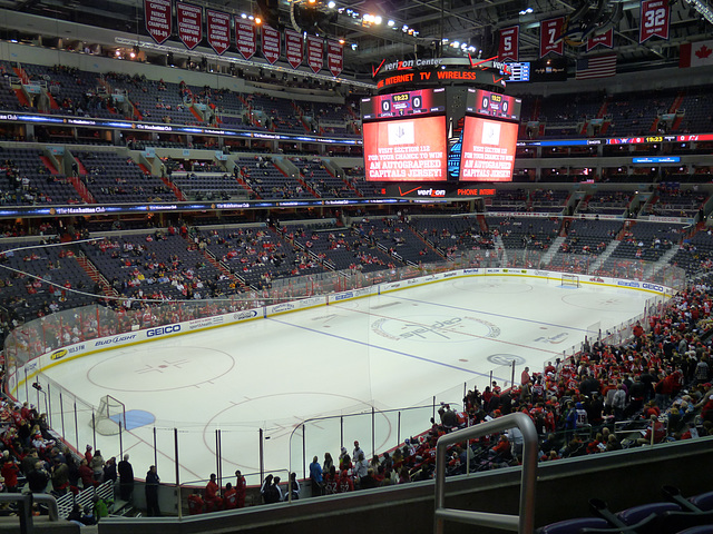 Caps vs. Devils 12/21/2010