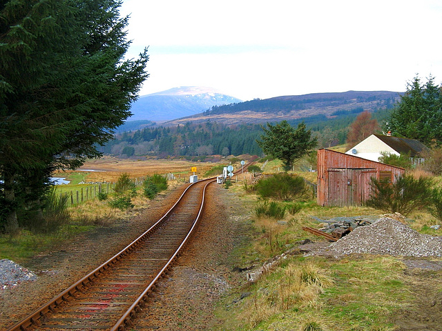 Achanalt goods yard