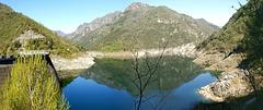 Lago di Valvestino an der Staumauer. ©UdoSm