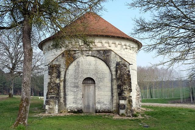 Chapelle St-Jean du Liget (XIIe s.) - Indre-et-Loire