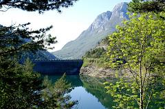 Lago di Valvestino, Staumauer. ©UdoSm