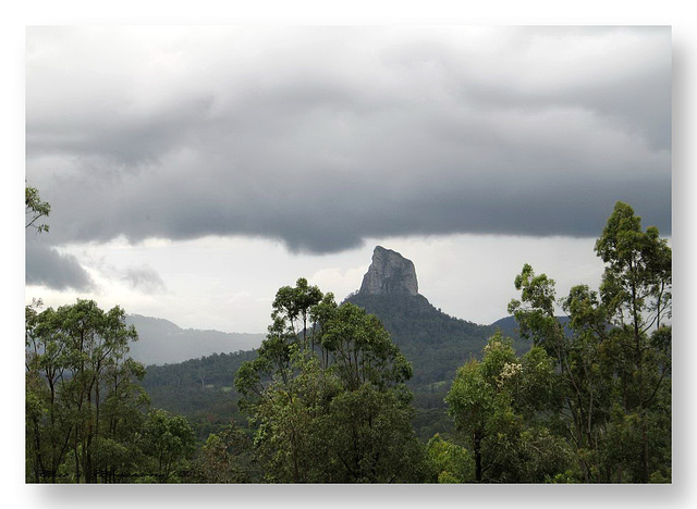 Mt Coonowrin - Glasshouse Mountains, Queensland, Australia