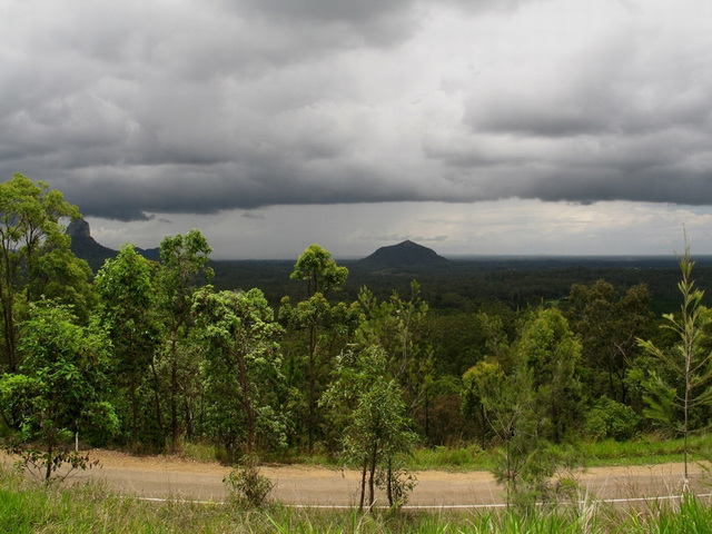 Stormy Peaks, Glasshouse Mountains, Queensland, Australia