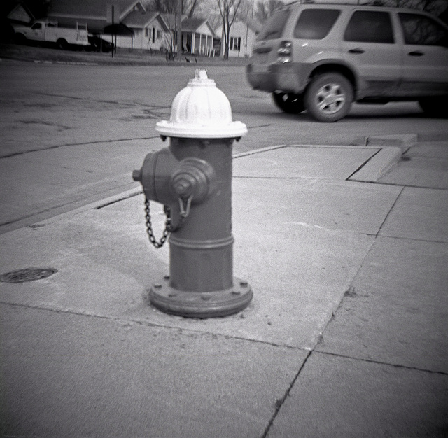 Fire Hydrant Across From The Post Office